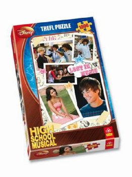Puzzle 1000 Pred vystoupenim Disney High school musical