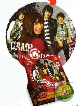 PUZZLE 300 Round Camp Rock Trefl