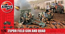 * Classic Kit military A01305 - 25pdr Field Gun and Quad (1:76)