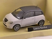 Cararama Car 1:43 Lancia Ypsilon White