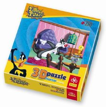 PUZZLE-210 3D Sylvester a Tweety